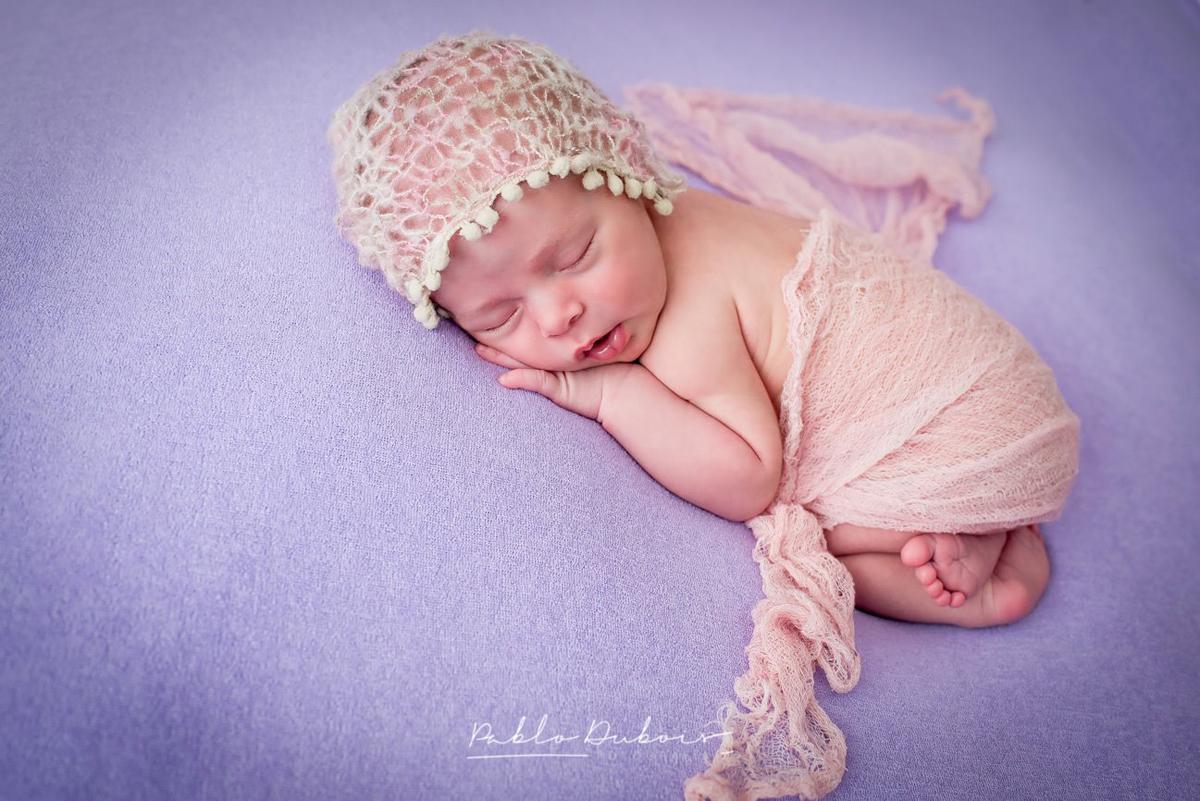 Fotos newborn para Alfonsina, bebe de 10 días de vida, Pablo Dubois Fotografía